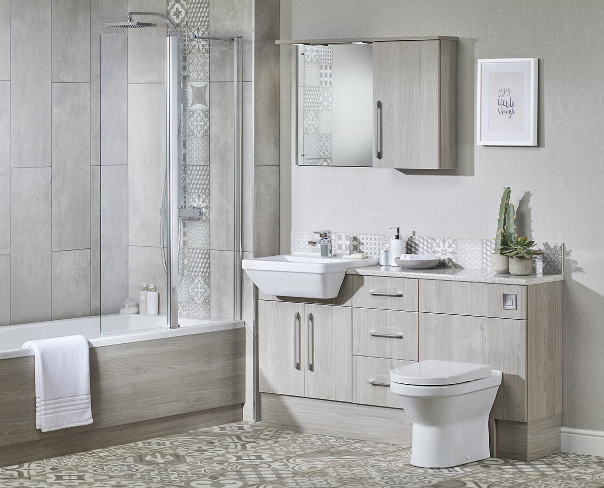 Making The Most Of A Small Bathroom Vanity Hall