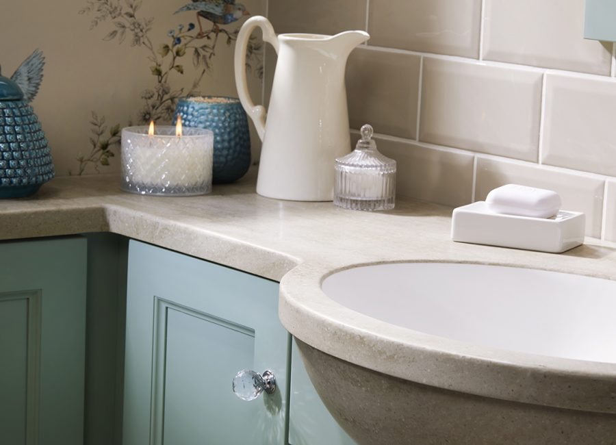 Decorating Ideas For A Cloakroom Using Duck Egg Blue Vanity Hall