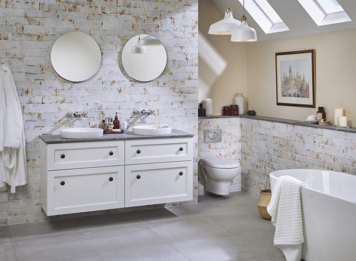 Fresh ideas for a white or cream bathroom - Vanity Hall